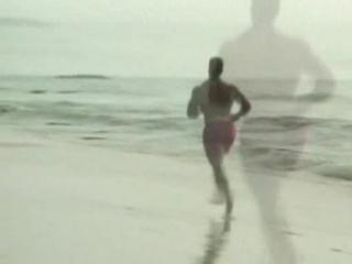 Бегущий по пляжу billy herrington