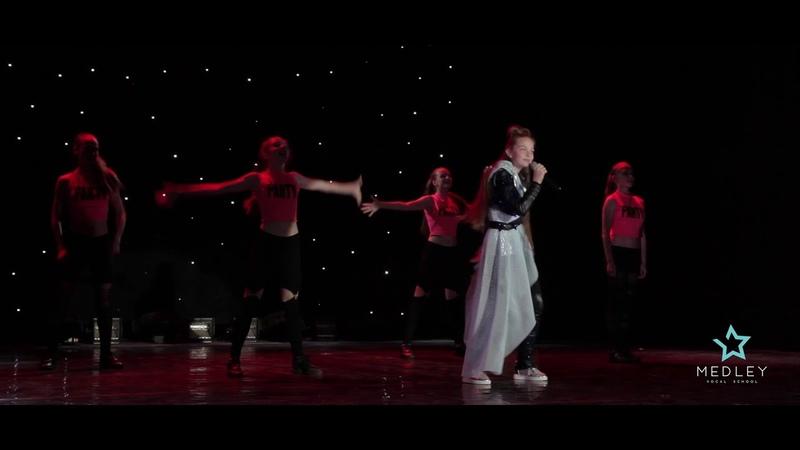 Марьяна Алейникова и образцовый театр танца Ирис-Шоу - Rock'n'Roll (cover)