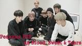 Озвучка by Cara Linne Реакция BTS на Blood, Sweat &amp Tears '