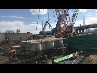 Демонтаж полоцкого путепровода в витебске