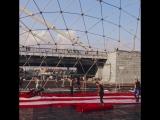 Under Armour проводит мероприятие в Парке Горького