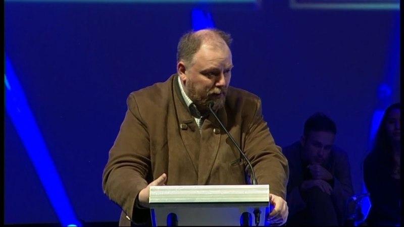 Егор Холмогоров на Общественном форуме Царском