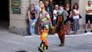 Karcocha Lois awesome street artist at Mirabilia Fossano CN Italy
