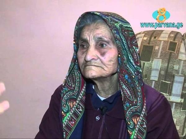 110 տարեկան Սաթենիկ տատիկը պատմում է իր կյանք