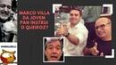 Marco Villa, da Jovem Pan, ensinou o Queiroz