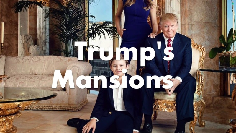 Donald Trump's Mansions - Valued over $150M
