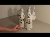 DIY Fairy House Lamp Using Coke Plastic Bottles