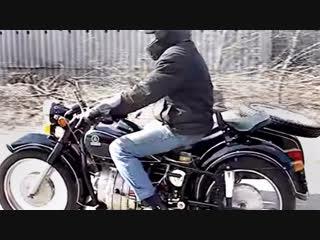 Мотоцикл днепр мт-8 с роторным двигателем рд-501, 1974 года