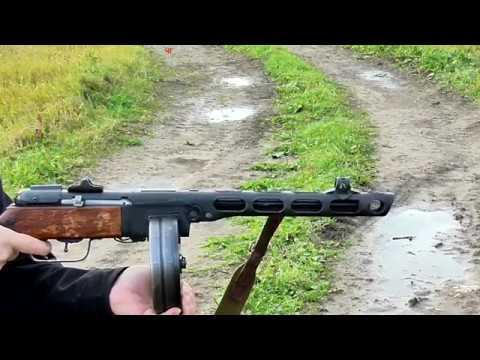 Стрельба из ППШ СХП