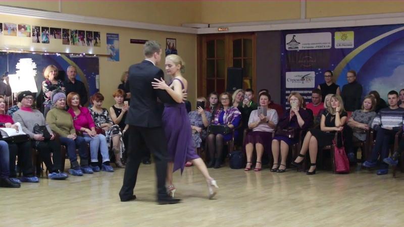 Фрагменты вечера, посвященного Международному дню аргентинского танго