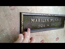 Могила Мерлин Монро в Лос Анджелесе grave of Marilyn Monroe