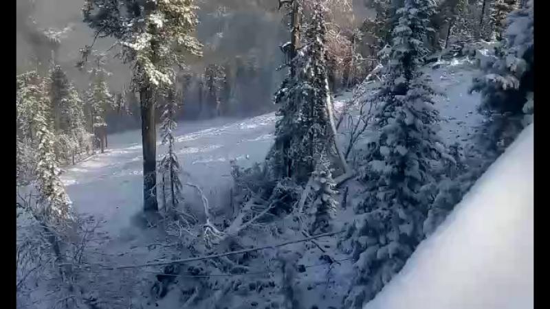 1000 метров TeletSki 15.10.18 Телецкое