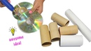How To Upcycle Tissue Rolls and Old Cds|BEST REUSE IDEA WITH TISSUE ROLLS AND CD