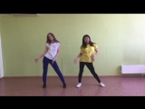 Зачет7 Адиса, Регина - 1Million dance choreo - Major Lazer (ft. Nyla&ampFuse ODG) - Light It Up (dance practice by X-Motion)