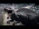 Мир Юрского периода. Сражения динозавров. Спинозавр. Документальный фильм.