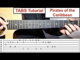 Pirates of the Caribbean (Theme) | TABS Fingerstyle Lesson TABS Playthrough