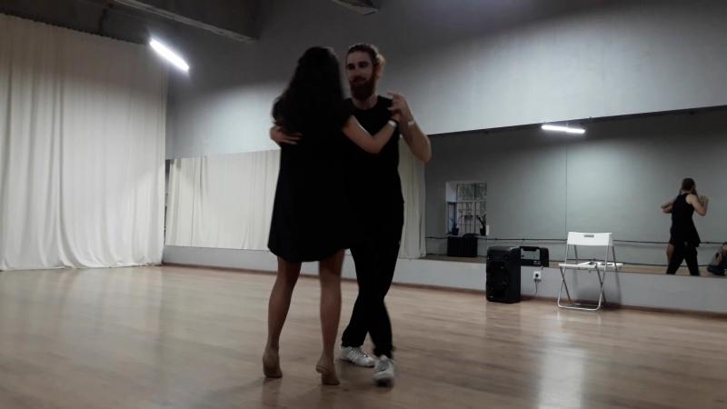 ПДС-4, Сандро и Настя, танец