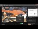 """RETISER EPP, VLEXVNDER KVIDVNOA в эфире радио """"Эхо Москвы"""" 91,2 fm (Александр Елин и Александр Плющев)"""