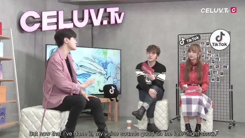 [28.02.19] Трансляция Im Celuv для Celuv TV (Сонджон)