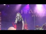 Лера Массква (#FIFAFanFest,Воробьёвые Горы,26.6.18)
