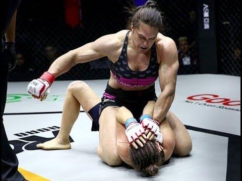 EXCLUSIVE FOOTAGE: Gabi Garcia Road FC 47 MMA fight Veronika Futina Beijing China UFC RIZIN FF