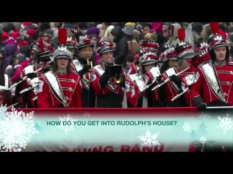 CTV - 110th Annual Toronto, Ontario Santa Claus Parade Broadcast Coverage - November 16, 2014