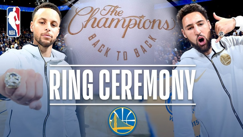 Golden State Warriors Championship Ring Ceremony | October 16, 2018