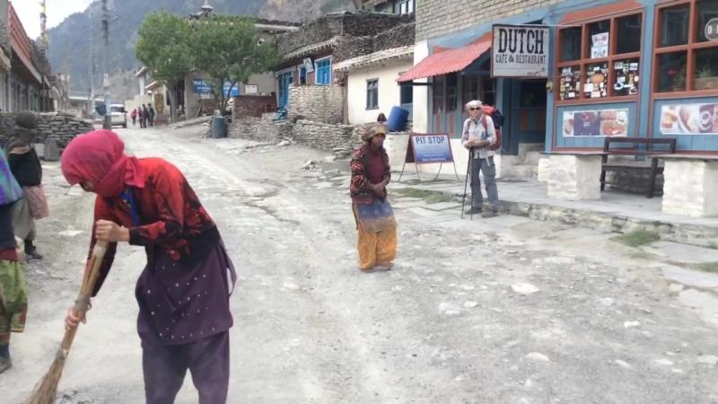 Тукуче наводим порядок и чистоту по-непальски