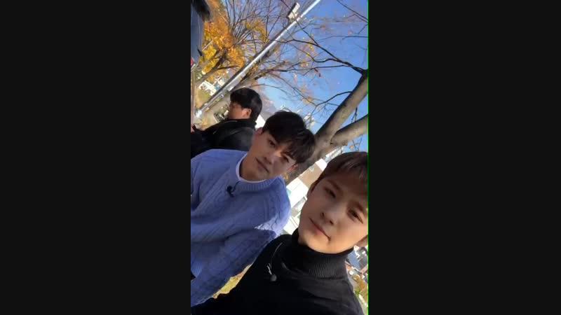 Jaejin insta story 31.10.2018