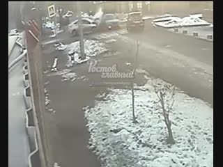 Дтп на перекрестке белорусская днепровский 9.12.2018 ростов-на-дону главный