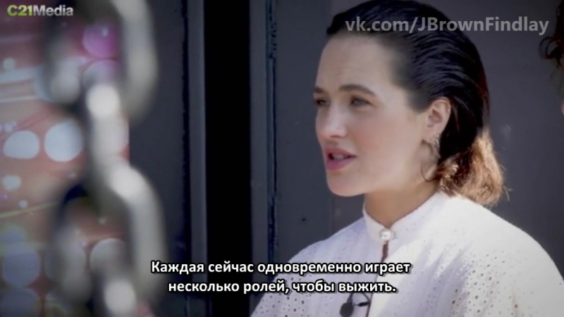 C21 INTERVIEW: Джессика Браун Финдли и Элисон Карпентер говорят о 2-ом сезоне сериала «Куртизанки» (Русские Субтитры)