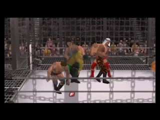 SFW Elimination Chamber 2 Part 5 (WWE SmackDown vs RAW 2011)