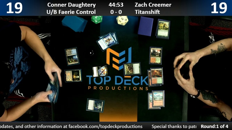 Modern w Commentary 12 11 18 Conner Daughtery U B Faeries vs Zachary Creemer Titanshift