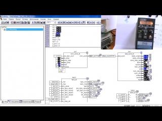 Подключение преобразователя частоты к ПЛК ОВЕН