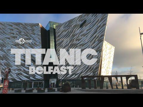 El museo del Titanic más grande del mundo! Irlanda 18