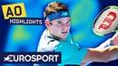 Milos Raonic vs Alexander Zverev Highlights Australian Open 2019 Round 4 Eurosport