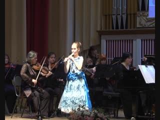 Комсомольчанка Светлана Мора стала лауреатом Республиканского конкурса на лучшее исполнение произведений для солистов с оркестро