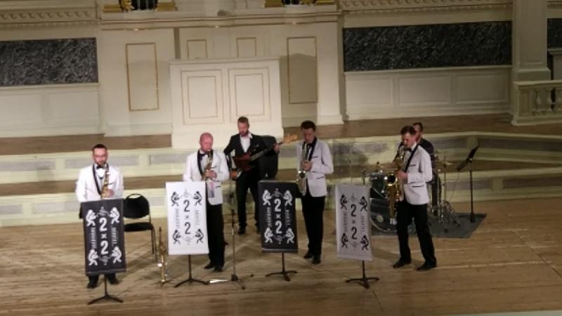 2x2 Saxophone Quartet. Капелла. 15.08.18г.