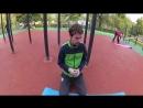 Тренировка в Измайловском парке.