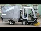 ЗАРЯ МКМ 4Х4 (аналоги BTM SWEEPER, LM TRAC 387) - шарнирный коммунальный мини-транспортёр 0,9 т.