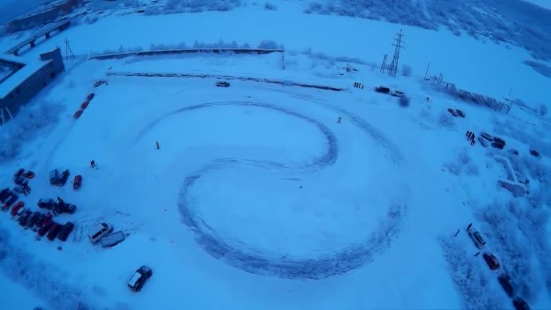 Winter Drift Battle Юз 51 2 этап 27 01 Зимний дрифт Мурманск yuz51