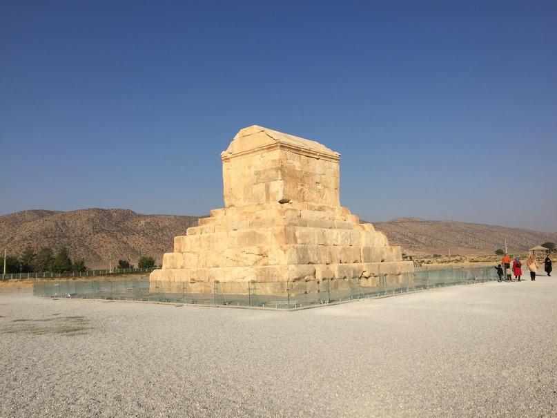Пасаргад Персеполис Шираз. Гробница Кира Великого