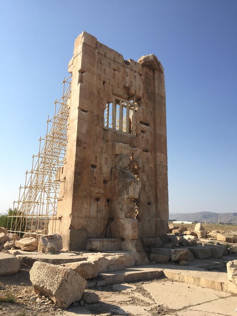 Пасаргад Персеполис Шираз. Руины Пасаргад