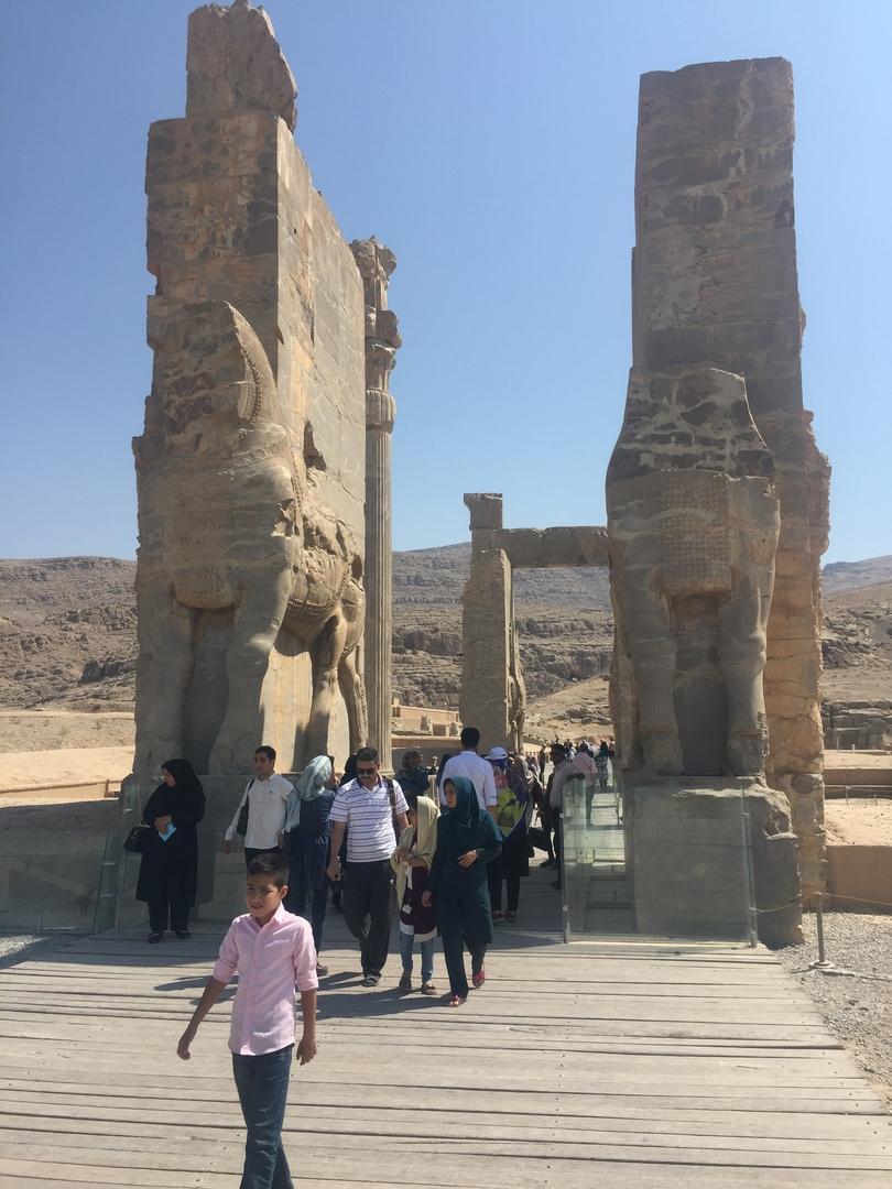 Пасаргад Персеполис Шираз. Главные ворота в Персеполис