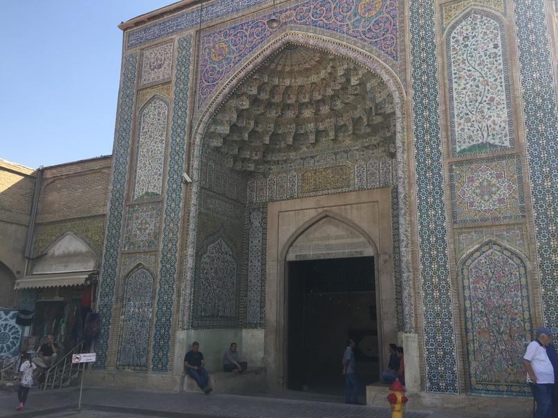 Пасаргад Персеполис Шираз. вход в мечеть Вакиль