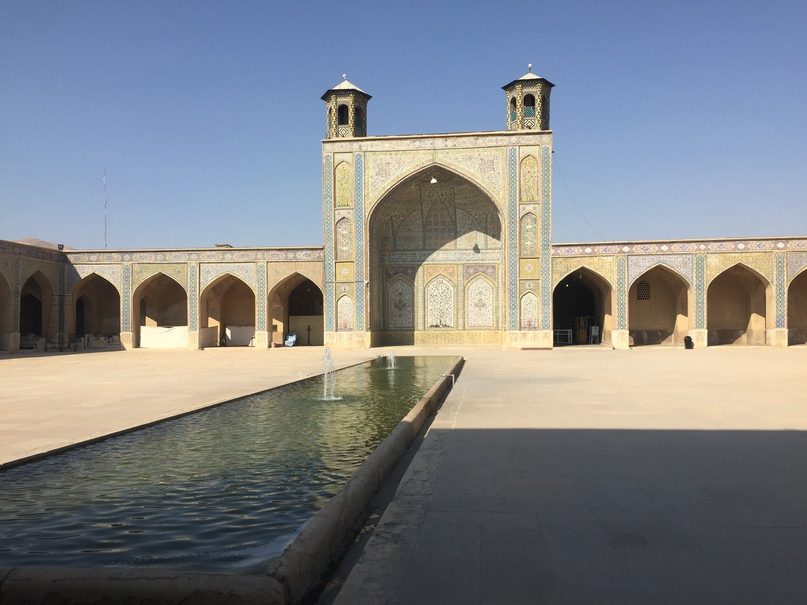 Пасаргад Персеполис Шираз. двор мечети Вакиль