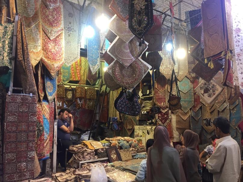 Пасаргад Персеполис Шираз. Рынок Шираза