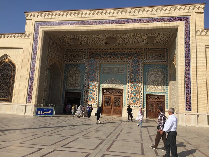 Пасаргад Персеполис Шираз. Вход в комплекс Мавзолея