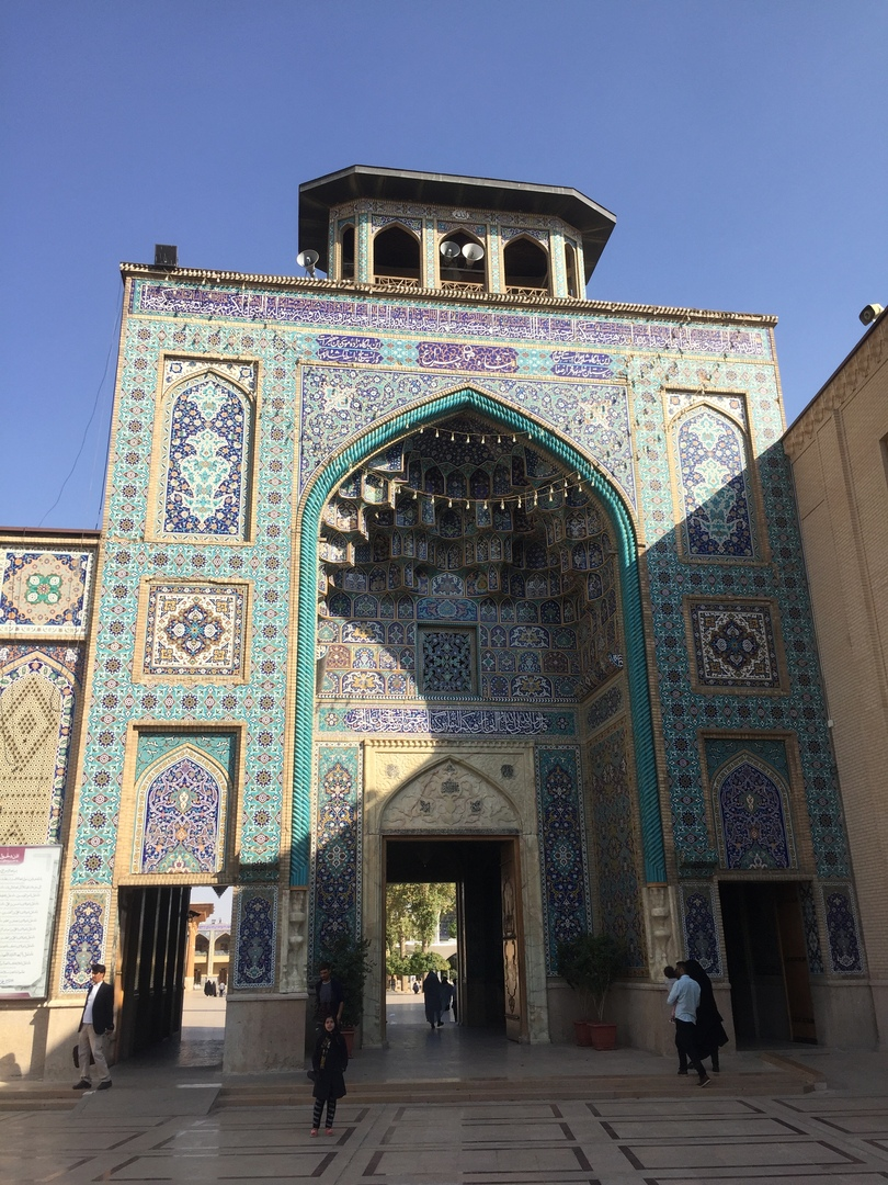 Пасаргад Персеполис Шираз. Вход во второй двор