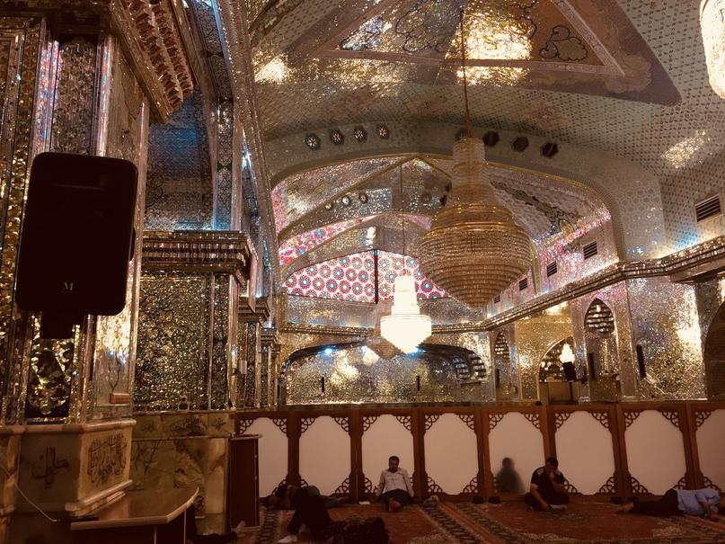 Пасаргад Персеполис Шираз. Внутренняя отделка мавзолея
